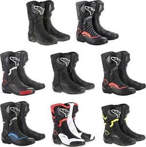 Alpinestars SMX-6 V2 Boots - Motorcycle Street Bike Riding Race Mens