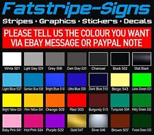 FORD FOCUS ST OTT STRIPES + SIDES CAR GRAPHICS STICKERS DECALS FREE RAPID P&P