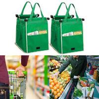 Women Shopping Bag Reusable Grocery Grab Bag Portable Nylon Big Capacity Pouch
