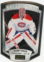 16/17 O-PEE-CHEE OPC PLATINUM NHL LOGO CREST #15 CAREY PRICE CANADIENS *32047