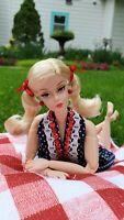 Barbie Made to Move Cherry Pie Picnic Silkstone Gold Label Hybrid OOAK