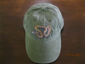 Beautiful Adjustable Cap with Embroidered Armenian Mountain Viper!