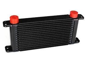 PWR ENGINE OIL COOLER 14-ROW 280x127x37mm Dash -10 AN / Dash -12 AN PWO5929