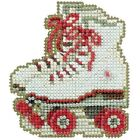 ROLLER SKATES by MILL HILL SPRING BOUQUET COLLECTION BEADED CROSS STITCH KIT