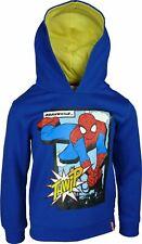 Boys PH1061 Marvel Spiderman Hooded Sweatshirt / Hoodie 3-8 Years