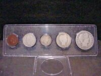 1909 MINT YEAR SET CENT TO HALF NICE CIRCULATED BETTER DATE COMBINED SHIPPING