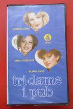 VHS PAL Color Video Tri Dame i Pub Gordana Zahar Usnija Biljana Jevtic Ex Yu