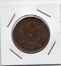 Argentina : 2 Centavos 1890 VF+