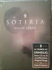 Sotiria - Hallo Leben  Ltd. Fanbox inkl. UNHEILIG Demo-CD 12 Songs SIGNIERT NEU