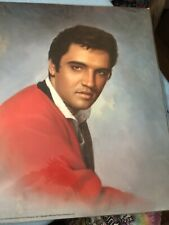 "Elvis Presley: The King Art ""Red Sweater"" - Poster 16x20 - Vintage"