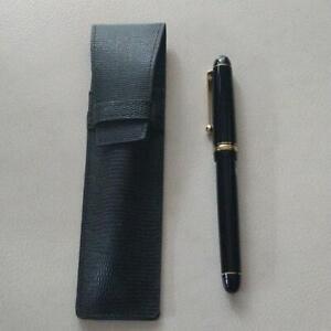 PILOT Fountain Pen Custom 74 Black Nib M with Pencase PM04277