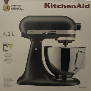 KitchenAid 5KSM95PSBSZ 4.3L Stand Mixer With Pouring Shield - Slate Brand New