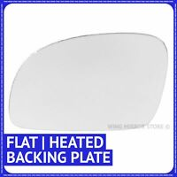 Left hand side for VW New Beetle 2003-2010 Flat heated wing mirror glass + plate