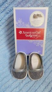 American Girl Doll Sparkle Sneakers Doll Shoes Z-yang-tenney