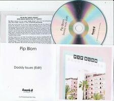 PIP BLOM DADDY ISSUES UK PROMO CD