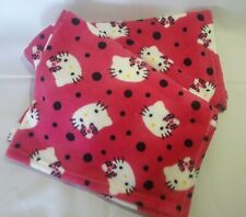 PERSONALIZED MINKY HOT PINK HELLO KITTY BLANKET ** Baby Shower Gift.** 28x35
