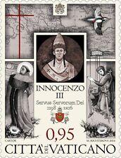 Ватикан  Vatican stamps   Vaticano 2016 - VIII CENT. MORTE INNOCENZO III