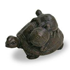 Turtle Papier Gewicht Takaoka Traditionell Craft Bronze Japan Leder Absatzschuhe