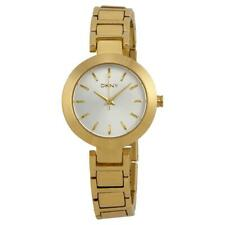 New DKNY Stanhope Ladies Gold Stainless Steel Bracelet Gold Dial NY2253 Watch