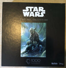 NEW Buffalo Games Star Wars Puzzle Fine Art Collection YODA 1000 Pieces