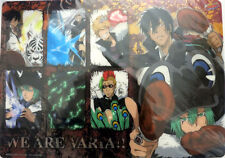 Hitman Reborn Varia Group Plastic Desk Mat Anime NEW