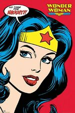 Wonder Woman Naughty Poster - Comic Cover size 24x36