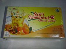2 box SAri Temulawak Instant 85 Honey&Orange Jamu Indonesia Tasty FREE AirMail