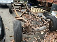 1958-62 Corvette Frame. (Rolling chassis)