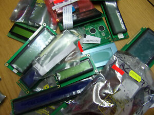 Mixed lot of different LCD Modules all types approx 17 varieties