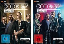 8 DVDs * CODE 37 - STAFFEL 1+2 IM SET - zdf_neo ~ FSK 18 # NEU OVP &
