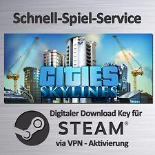 ⭐️ Cities - Skylines - Deutsch - PC / MAC / LINUX - STEAM Key - BLITZVERSAND ⭐️