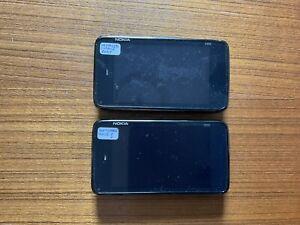 Nokia N900 Mobile/Smartphone Joblot/Bundle x 2 (Faulty/Spares/Repairs)