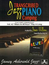 Aebersold 42 Blues in All Keys Jazz Piano Comping Klavier Noten