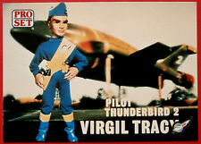 Thunderbirds PRO SET - Card #020, Pilot Thunderbird 2 Virgil Tracy - Pro Set