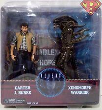 "CARTER BURKE & CONCEPT XENOMORPH WARRIOR Aliens Hadley's Hope Set 7"" Figure 2017"