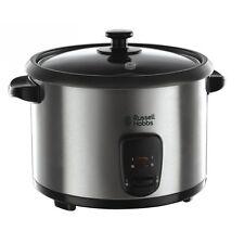 Russell Hobbs Cook@Home Elektrischer Reiskocher Edelstahl-Schwarz 700 Watt