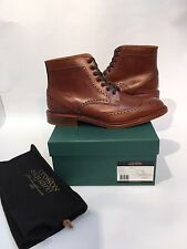CROSBY SQUARE CONROY WINGTIP COGNAC  BOOTS  SIZE US 9 UK 42  ORG.P $375