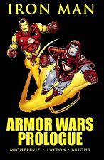 Iron Man: Armor Wars Prologue by David Michelinie & Bob Layton 2010 TPB Marvel