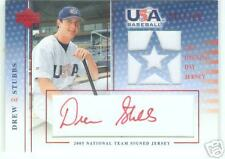 Drew Stubbs Colorado 2005-06 USA National Opening Day Jersey Signature Red
