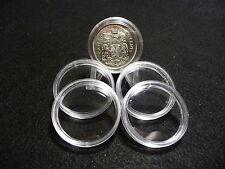 CANADIAN COIN CAPSULES  30mm  (pkg of 5 )  HALF DOLLAR 1967 & PRIOR (#2)