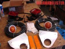 *Military/Commercial Truck Brake/Stop w/Rear LED Marker Light & Back-up Buzzer