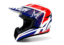 AIROH SWITCH STARTRUCK RED MOTOCROSS HELMET - ACU GOLD STAMP FITTED