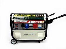 KRAFTECH 9500W AIR COOLED PETROL GENERATOR WITH WHEELS WHITE