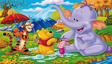 Winnie the Pooh Poster Length: 800 mm Height: 500 mm  SKU: 107