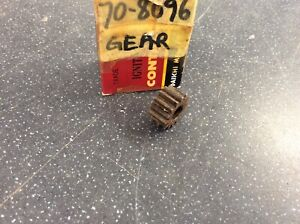 Triumph Bsa Oil Pump Gear 14t 3/8 Wide 70-8096 41-0604 Genuine Nos