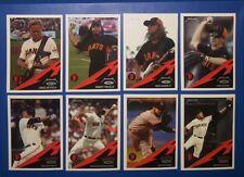 SF Giants METALLICA Card Set Lars Ulrich James Hetfield Trujillo Hammett