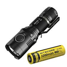 Nitecore MH20 1000Lumens CREE XM-L2 U2 USB Rechargeable LED Flashlight w/Battery