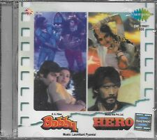 BOBY / HERO - 2 IN ONE FILMS SONGS - NEW BOLLYWOOD SOUND TRACK CD