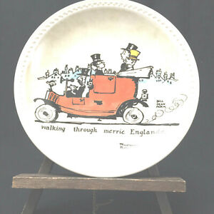 """Norman Rockwell Plate """"Walking Through Merrie Englande"""" Limited Edition"""