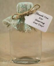 Green Wedding Favor Bags/Boxes